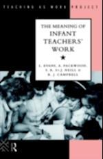 Meaning of Infant Teachers' Work af Linda Evans