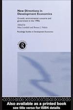 New Directions in Development Economics