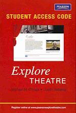 Explore Theatre Student Access Code Card Passcode