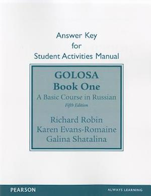 Golosa a basic course in russian book 1 5th edition
