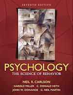 Psychology af Harold Miller, Neil R. Carlson, C. Donald Heth