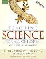 Teaching Science for All Children (myeducationlab Access Codes)