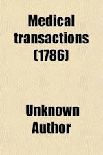 Medical Transactions (Volume 2)