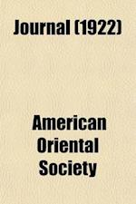 Journal (Volume 42) af American Oriental Society
