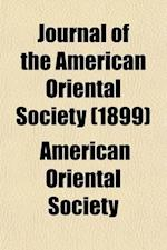 Journal of the American Oriental Society Volume 20 af American Oriental Society