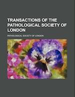 Transactions of the Pathological Society of London (Volume 22 1871) af Pathological Society Of London