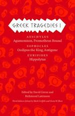Greek Tragedies 1 (The Complete Greek Tragedies)