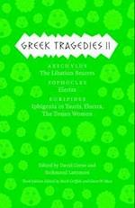 Greek Tragedies 2 (The Complete Greek Tragedies)
