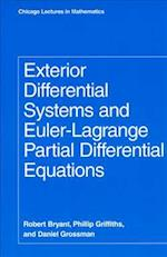 Exterior Differential Systems and Euler-Lagrange Partial Differential Equations af Phillip Griffiths, Daniel Grossman, Robert Bryant
