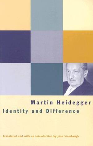Bog paperback Identity and Difference af Martin Heidegger