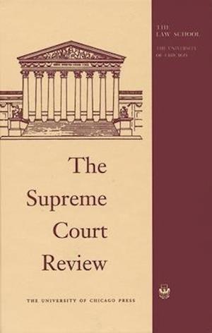 Bog, hardback The Supreme Court Review, 1995