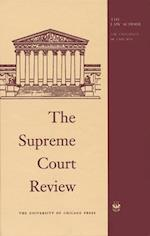 The Supreme Court Review, 1998 (SUPREME COURT REVIEW)