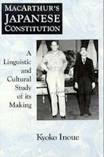 MacArthur's Japanese Constitution