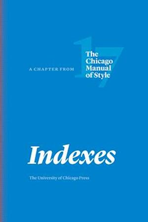 Bog, paperback Indexes af University Of Chicago Press