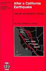After a California Earthquake (UNIVERSITY OF CHICAGO GEOGRAPHY RESEARCH PAPERS, nr. 233)