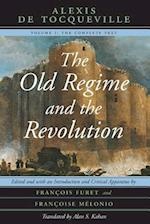 The Old Regime and the Revolution af Francois Furet, Alexis De Tocqueville, Francoise Melonio