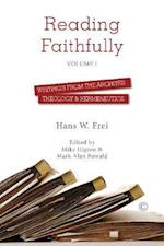 Reading Faithfully - Volume One