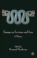 Essays on Levinas and Law af Desmond Manderson