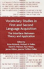 Vocabulary Studies in First and Second Language Acquisition
