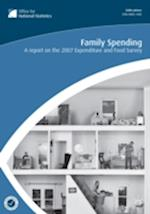 Family Spending (2007-2008) (Family Spending Report on XXXX Family Expenditure Survey)