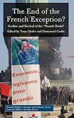 The End of the French Exception? (French Politics, Society and Culture)