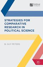 Strategies for Comparative Research in Political Science af B. Guy Peters