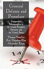 Criminal Defence and Procedure