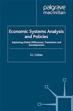 Economic Systems Analysis and Policies af S. Cohen
