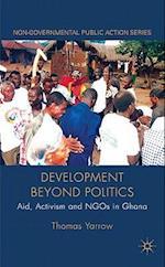 Development beyond Politics (Non-governmental Public Action)