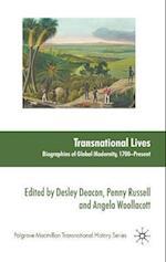 Transnational Lives (Palgrave MacMillan Transnational History)