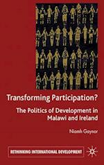 Transforming Participation? (Rethinking International Development)