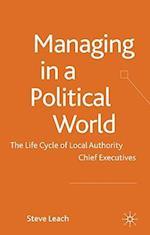 Managing in a Political World af Steve Leach