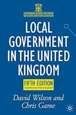 Local Government in the United Kingdom (Government Beyond the Centre)