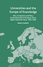Universities and the Europe of Knowledge af A. Corbett