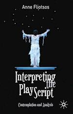 Interpreting the Play Script