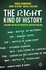The Right Kind of History