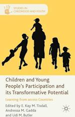 Children and Young People's Participation and Its Transformative Potential (Studies in Childhood and Youth)