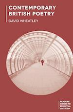 Contemporary British Poetry af David Wheatley
