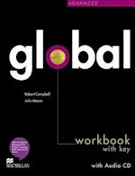 Global Advanced Workbook & CD with key Pack af Robert Campbell, Julie Moore