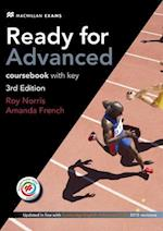 Ready for Advanced 3rd Edition Student's Book with Key Pack (+Audio + MPO) af Amanda French