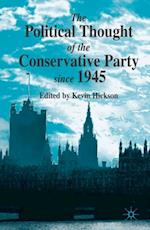 Political Thought of the Conservative Party Since 1945