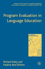 Program Evaluation in Language Education (Research and Practice in Applied Linguistics)