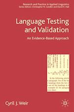 Language Testing and Validation (Research and Practice in Applied Linguistics)