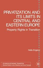 Privatisation and Its Limits in Central and Eastern Europe (Studies in Economic Transition)