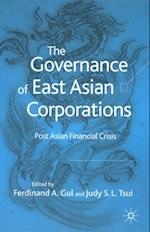 Governance of East Asian Corporations