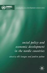 Social Policy and Economic Development in the Nordic Countries (Social Policy in a Development Context Series)