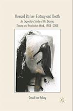 Howard Barker: Ecstasy and Death af D. Rabey