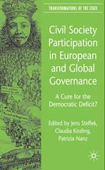 Civil Society Participation in European and Global Governance (Transformations of the State)