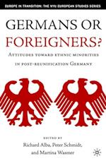 Germans or Foreigners? af Peter Schmidt