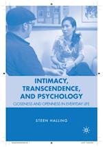 Intimacy, Transcendence, and Psychology